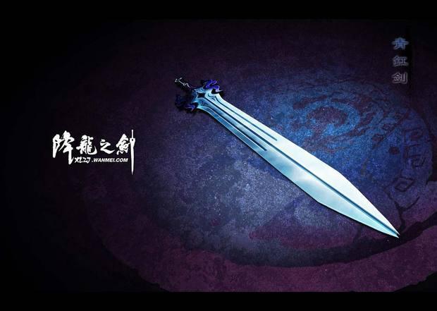 好看的古风刀剑武器图片
