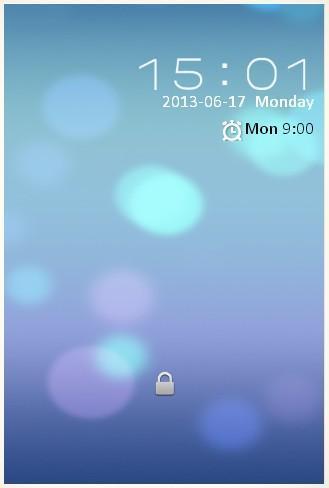 《 iOS7 Lock screen HD 》截图欣赏