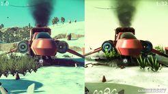 《无人深空》最新版对比原版画面 像做了个新游戏