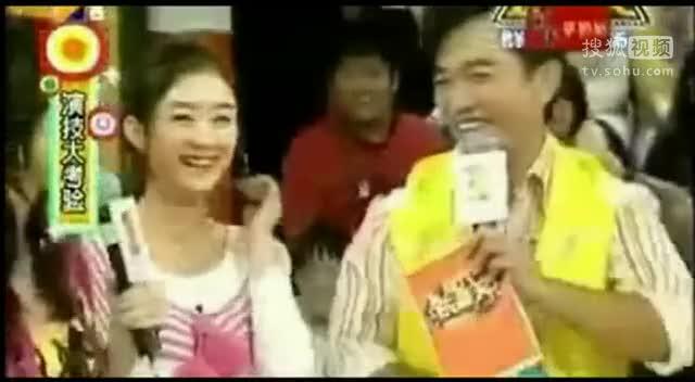 赵丽颖出道前唱歌视频曝光