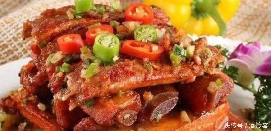 美食推荐之荔枝鸡丁,麻辣排骨,韭黄炒肚丝,一周吃七天都吃不腻