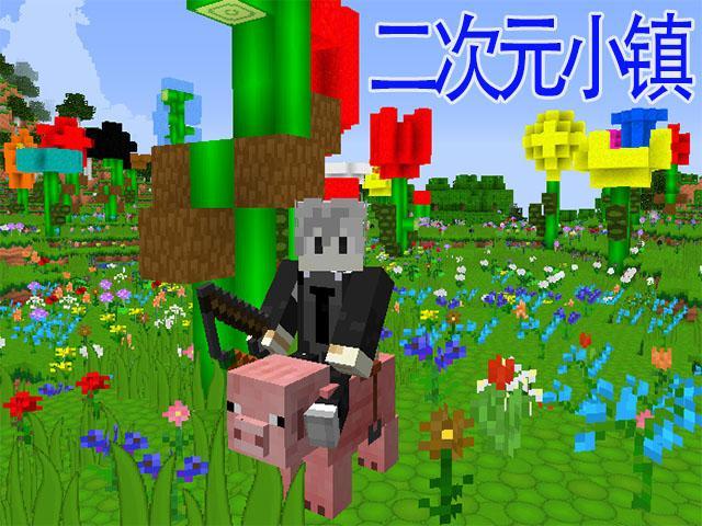 我的世界二次元小镇 梦想成为猪骑士