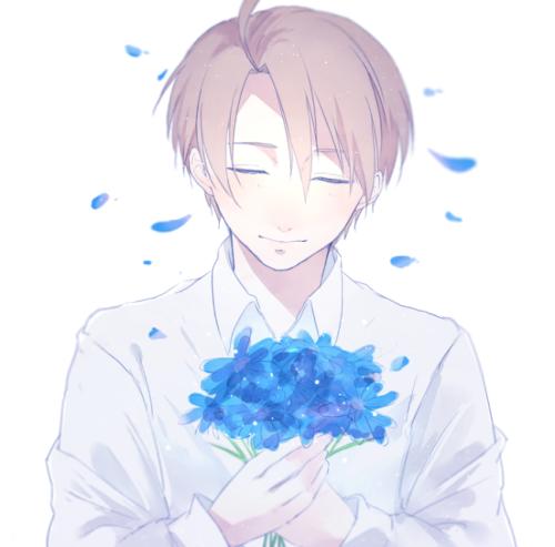 男生,捧花】