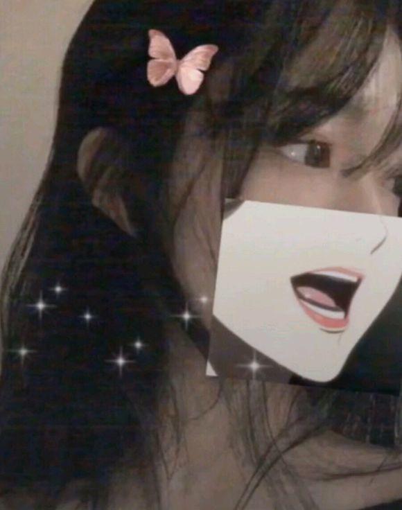 抖音半脸遮挡素材图片合集 怎么做呢