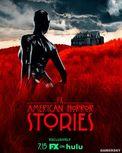 《美国恐怖故事》衍生剧发布海报 黑色胶衣人再现