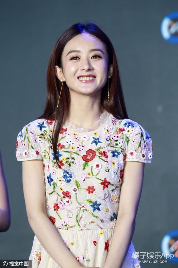 花仙子真人版已上线,烂漫春日被赵丽颖穿得最带感!