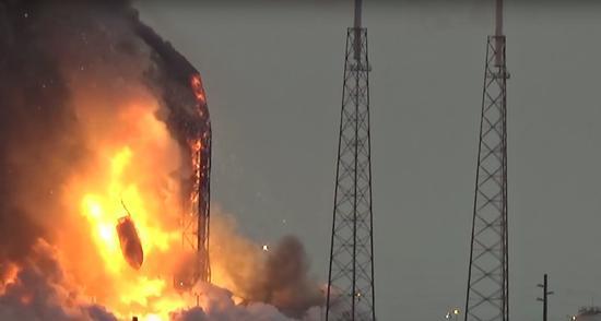 ��ըԭ��δ���� SpaceX���11