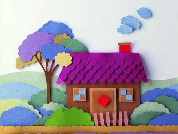 【幼儿园海绵纸剪贴画】【图】幼儿园海绵纸剪贴画图