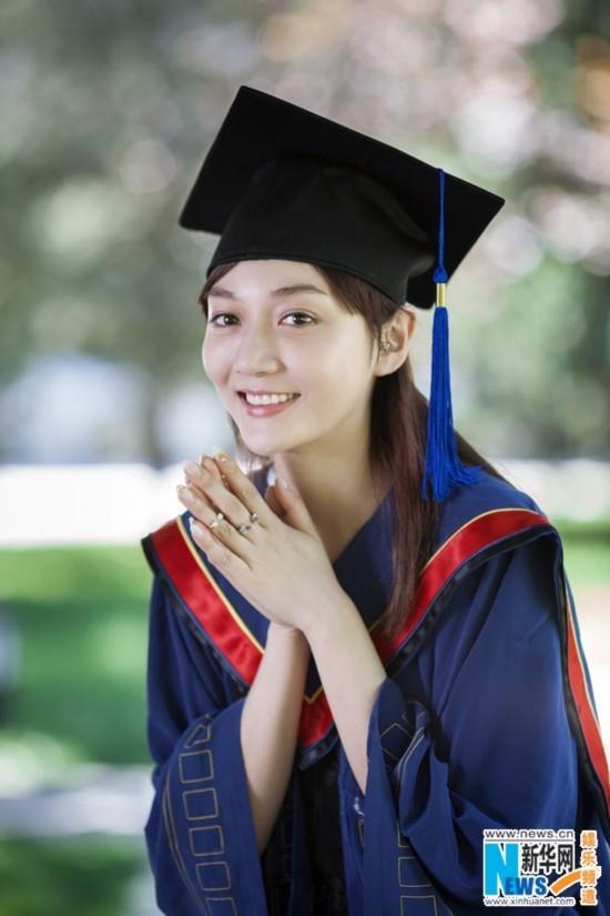 潘之琳硕士毕业照曝光