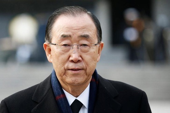South Korea poll: Ban Ki-moon's support rate ranked second in the presidential candidate - Beijing time