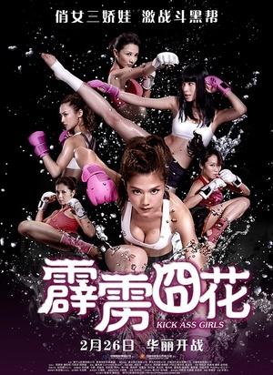 《霹雳囧花》海报