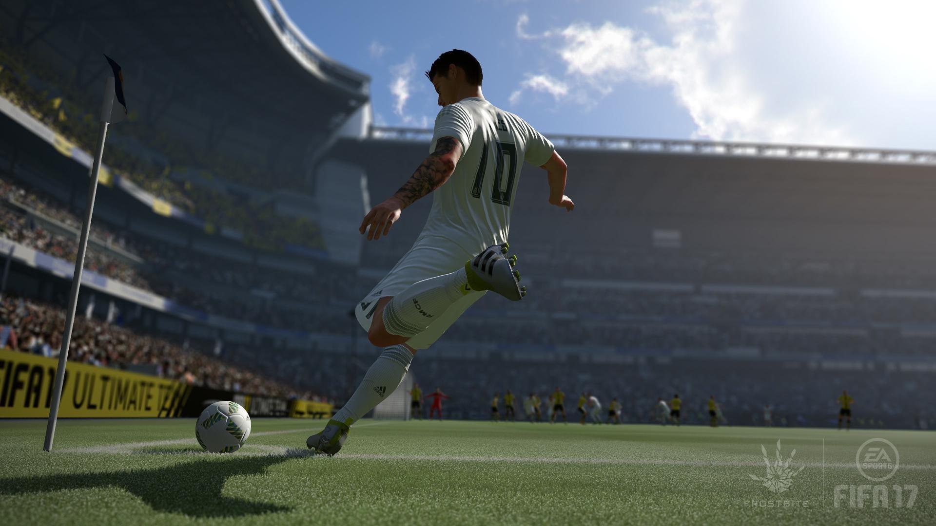 《FIFA 17》IGN评分8.4