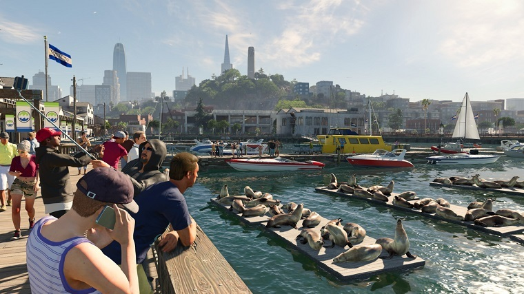 《看门狗2》游戏画面