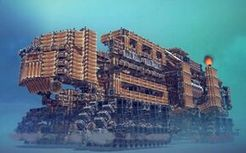 (besiege)移动城堡?苏联基地车变形!