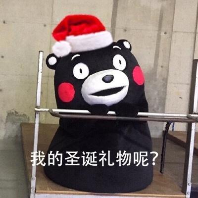圣诞节要礼物搞笑表情包