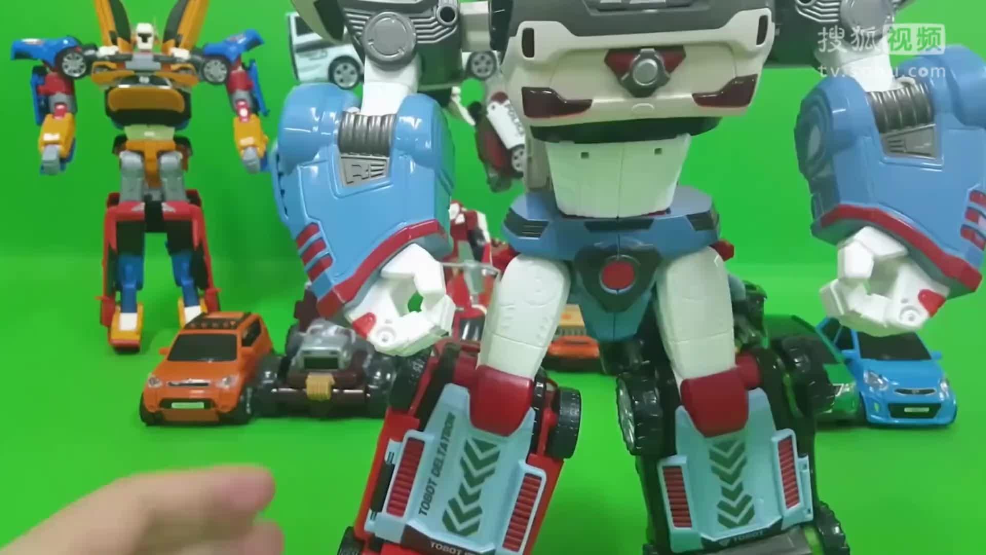 汽车总动员工程车变形金刚飞机总动员玩具视频大全
