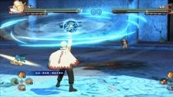 火影忍者究极风暴4:鸣人独有技能,变化属性的螺旋手里剑