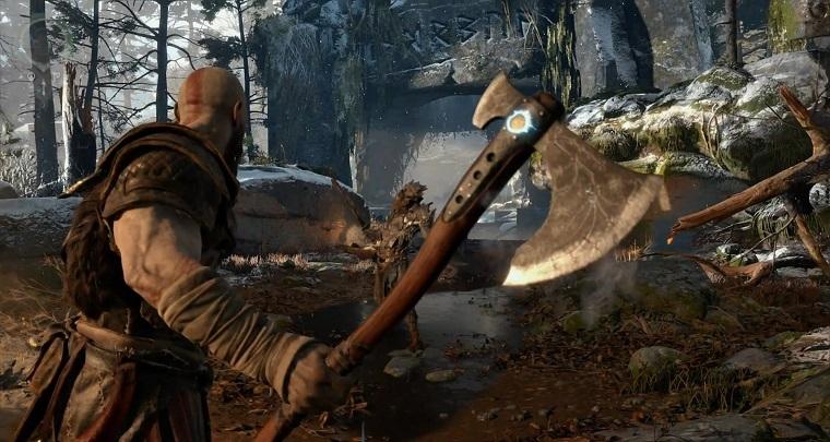 《战神4》游戏画面