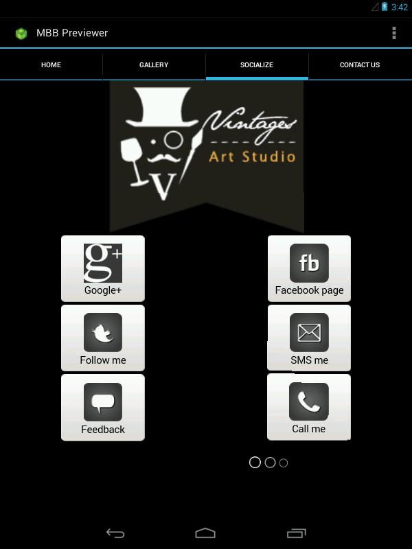 移动应用 Vintages Art Studio